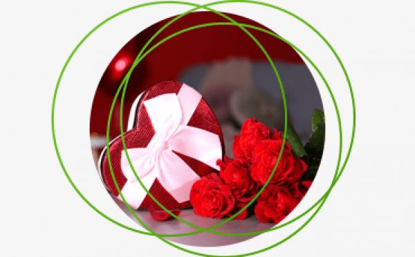 róża i serce